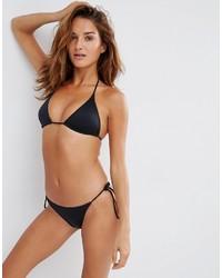 Asos Multi Pack Triangle Bikini Top And Tie Side Bikini Bottom
