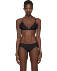 Acne Studios Black Hedea A Bikini Top