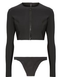Lisa Marie Fernandez Farrah Bonded Bikini Black
