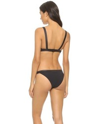 Marc by Marc Jacobs Solid Marc Cut Out Bikini Top