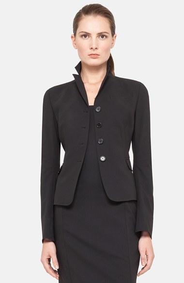 Akris Punto Fitted Wool Jacket
