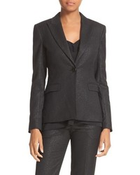 ATM Anthony Thomas Melillo Metallic Blazer