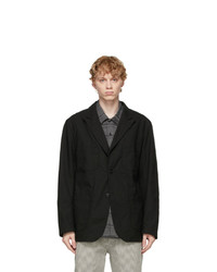 Engineered Garments Black Bedford Blazer