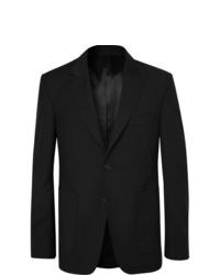Salle Privée Black Lloyd Wool And Mohair Blend Suit Jacket