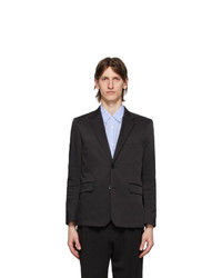 Poggys Box Black Technical Blazer