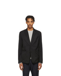Z Zegna Black Technical Sport Blazer