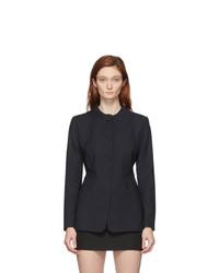 Coperni Black Trompe Loeil Tailored Jacket