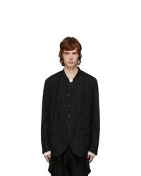 Ziggy Chen Black Unstructured Blazer