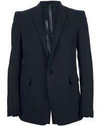 Carol Christian Poell Contrast Single Button Blazer