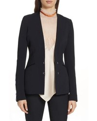 JONATHAN SIMKHAI Compact Stretch Basque Blazer