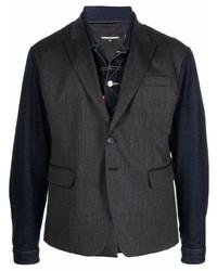 DSQUARED2 Contrast Sleeve Blazer