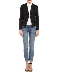 Barneys New York Cropped Military Jacket