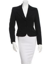 Dolce & Gabbana Dg Cropped Three Quarter Sleeve Blazer