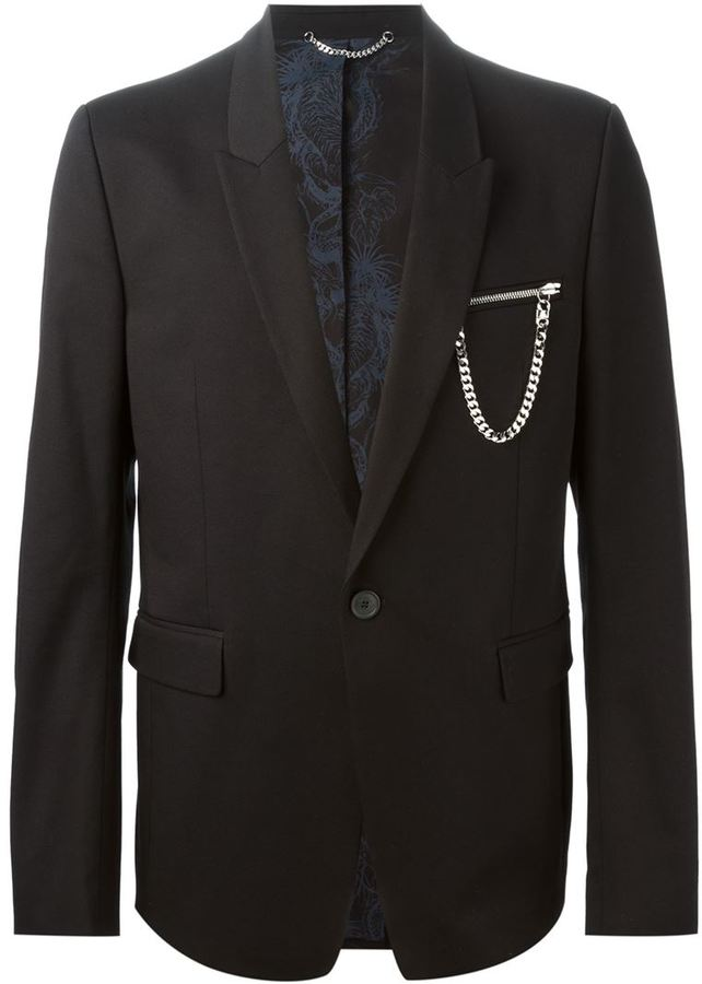 Black Suit With Gold Go Suits