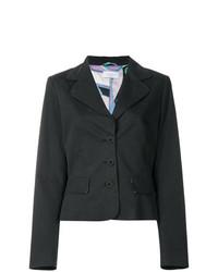 Emilio Pucci Vintage Flap Pockets Fitted Blazer
