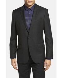 BOSS Hutch Trim Fit Wool Blazer