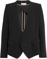 Chloé Iconic Crepe Blazer Black