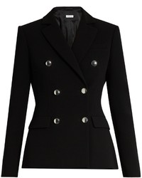 Altuzarra Indiana Double Breasted Cady Blazer