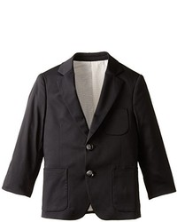 Isaac Mizrahi Little Boys Cotton Solid Blazer