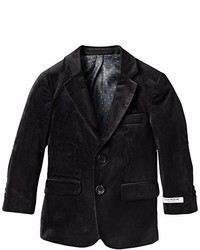 Isaac Mizrahi Little Boys Single Breasted Velvet Blazer