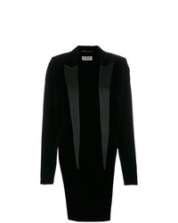 Saint Laurent Lapel Tailcoat Blazer