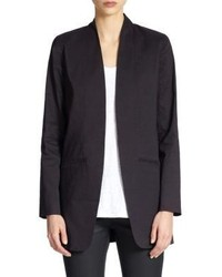 Eileen Fisher Long Open Front Blazer