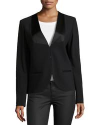 Michael Kors Michl Kors Long Sleeve Tuxedo Jacket Black