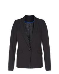 New Look Black Bi Stretch Blazer