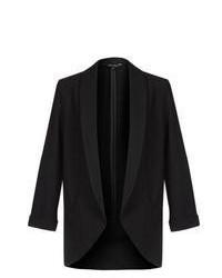 New Look Black Crepe Blazer