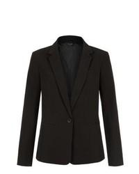New Look Black Single Button Longline Blazer