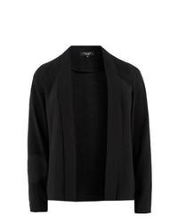 New Look Inspire Black Open Front Blazer