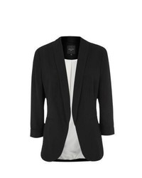 New Look Tall Black Crepe Blazer