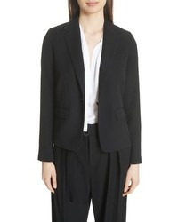 Vince One Button Blazer