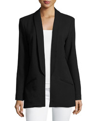 MinkPink Open Front Blazer Jacket Black