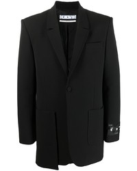 Off-White Pocket Detail Blazer
