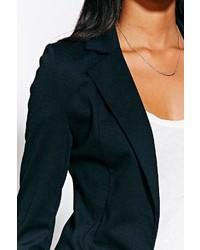 Sparkle & Fade Ponte Knit Blazer
