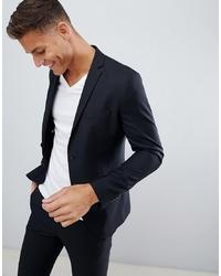 Jack & Jones Premium Suit Jacket In Slim Fit Black