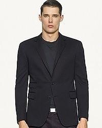 Ralph Lauren Black Label Cotton Interlock Blazer
