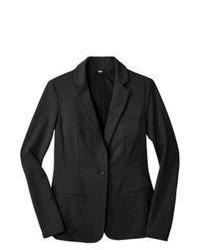 Ralsey Group Mossimo Ponte Blazer Black Xxl