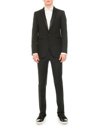 Satin lapel tuxedo jacket black medium 586090