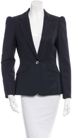 See by Chloe See By Chlo Wool Single Breasted Blazer