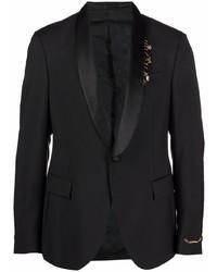 Versace Shawl Lapel Suit Jacket