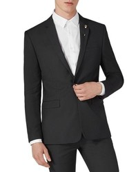 Topman Skinny Fit One Button Suit Jacket