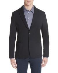 Emporio Armani Slim Fit Stretch Cotton Blend Blazer