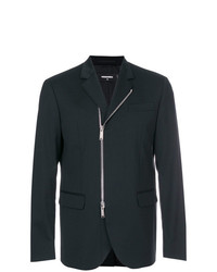 DSQUARED2 Slim Fit Zipped Blazer