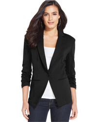 Style Co Style Co Ponte Knit Fitted Blazer Only At Macys