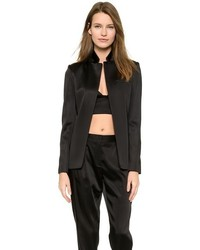 Alexander Wang T By Open Satin Blazer