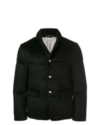 Thom Browne Tonal Down Filled Cashmere Sport Coat