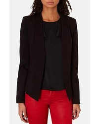 Topshop Georgia Collarless Blazer