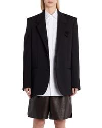 Bottega Veneta Two Button Mohair Jacket